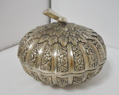 Unique Stunning Vintage Silver Plated Candy Dish with Cover!