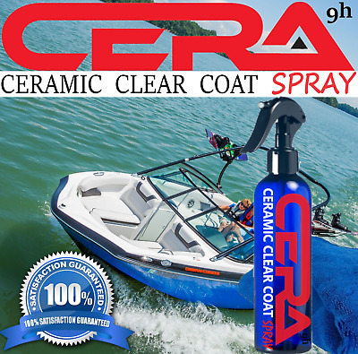 Marine 9H Ceramic Coating Kit Nano Quartz Spray Made In Usa