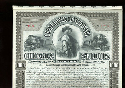 Cleveland, CIncinnati, Chicag & St. Louis RAilway Co.-