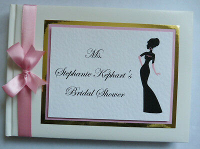 Personalised Hen Night / Hen Party Guest Book / Scrapbook - Any Colour