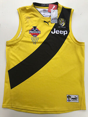 RICHMOND 2017 PREMIERS 2XL Next Day Delivery JUMPER GUERNSEY Dusty Cotchin Home