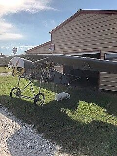 Replica German Fighter Single Engine Airplane