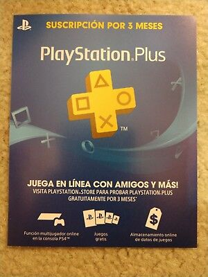 Digital Code Only! Sony PlayStation Plus + 3 Month Membership Genuine PS4