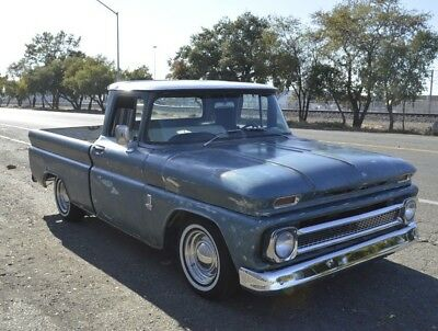 1963 Chevrolet C-10 PATINA SHORT BED WB FLEETSIDE Pickup Truck Hot Rod rat Custom VTG 1960 1961 1962 1964 1965 1966