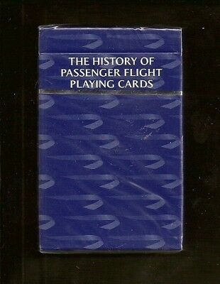 Sealed Deck British Airways History Of Passenger Flight Playing Cards