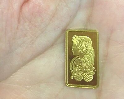 PAMP Suisse Gold Bar 2.5  999.9 pure gold