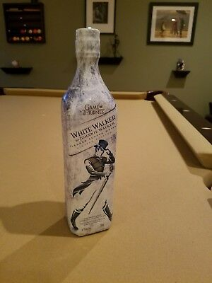 Johnnie Walker- *GAME OF THRONES*WHITE Walker LIMITED EDITION! Rare sealed