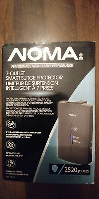 Noma Performance Series Vertical Power Bar 7-Outlet Surge Protector 2520 Joules
