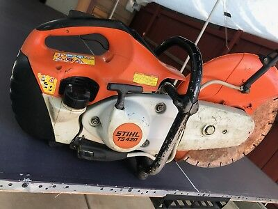 STIHL TS 420 Concrete Cut-Off Saw