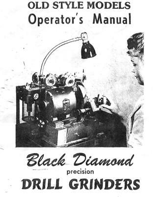 Black Diamond Old Style Drill Sharpening Training Notes