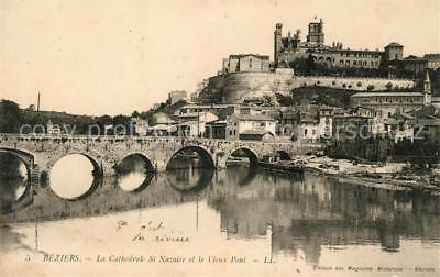 13014624 Beziers Kathedrale Bruecke Beziers