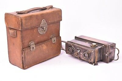 Camera stereo Verascope for Jules Richard with case