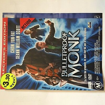ACTION EX-RENTAL DVDs BULK LOT $3 EACH - M15+ DISK & SLEEVE ONLY - NO CASE