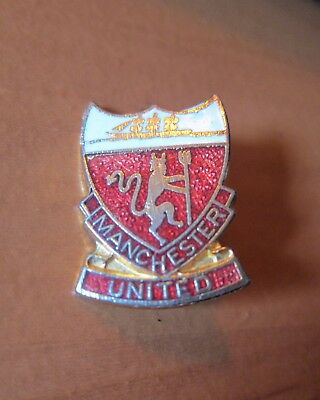 Manchester United Soccer Badge English Football Very Good Condition