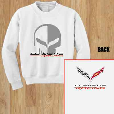 Chevrolet Corvette Racing Jake Skull Unisex Sweashirt