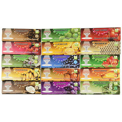 5 Booklets 110mm Fruit Flavored Cigarette Smoking Rolling Paper 32 Leaves Random