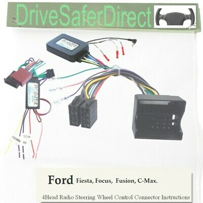 SWC-2094-01L CAN-BUS Stalk Control,LEARNING for Chinese Radio/Ford C-Max 03-10