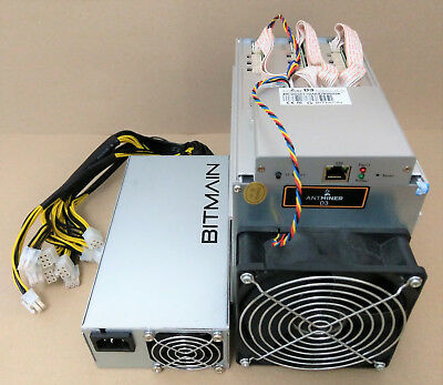 Bitmain Antminer D3 | 19,3 GH | inkl. APW3++ PSU | sofort lieferbar | Dash #1230
