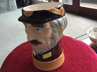 Musical Toby Jug/character  Jug Perfect Condition. Plays Colonel Bogey March.