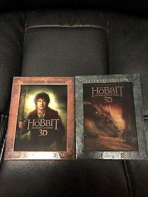 The Hobbit 1&2 3d Blu Ray Lenticular Covers Only
