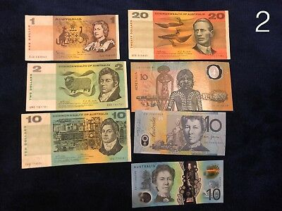 Australian Currency Coins and Bank Notes