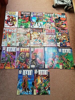 Marvel And Fleetway Quality Comics. Iron Man Captain America,thor,wolverine and