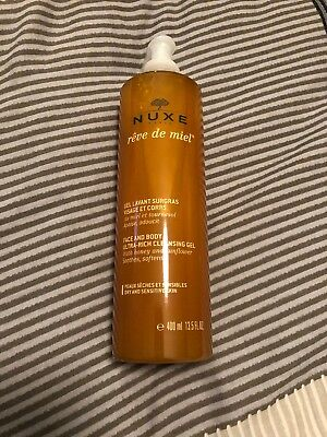 BN and Sealed Nuxe REVE de MIEL FACE & BODY - ULTRA RICH CLEANSING GEL - 400ml