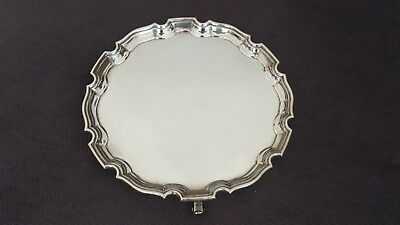 Stunning Antique 1935/36 Adie Brothers Sterling Silver Salver - Heavy 344 Grams