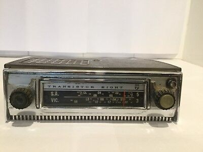 Vintage PHILIPS TRANSISTOR 8 Portable Car Radio Model PA3 for Restoration