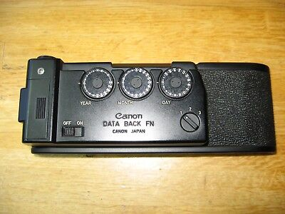 Canon Data Back FN MINT