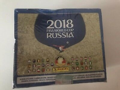WM 2018 Fifa World Cup Russia: 1 Display 100 Tüten (Neu & OVP)