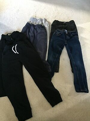 Bundle Of 6 Boys Trousers Size 7 Years