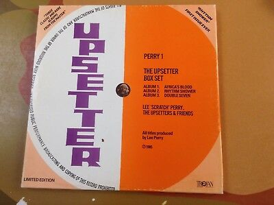 Lee 'Scratch' Perry, The Upsetters & Friends – The Upsetter Box Set 3 LPs rar!