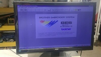Brother BES 1240 1260 Embroidery Machine Operating Computer Software