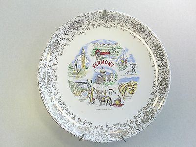 Vintage Vermont State Collector Plate