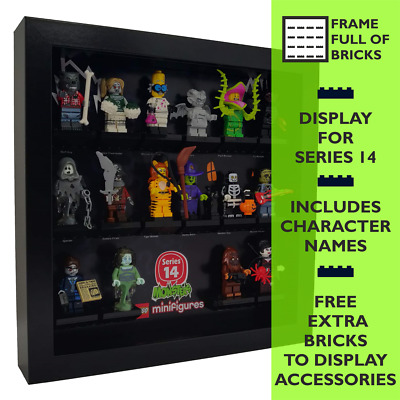 Lego Minifigures Display Case Picture Frame for Unikitty Series 1  mini figures