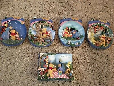 Bradford exchange Winnie The Pooh Collector Plates/wallhangings