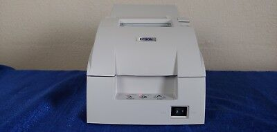 new Epson white POS printer model TM-U220PA M188A thermal receipt point of sale