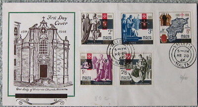 Malta. Foundation of Valletta1966 first day cover