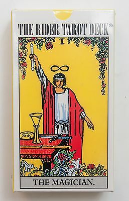New 78 Tarot Cards Deck Rider Waite The Magician +short manual in English
