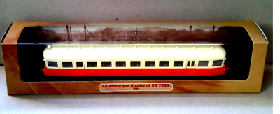 Train Model LA REMORQUE D'AUTORAIL XR 7200 1948 - Atlas  1/87 [039]