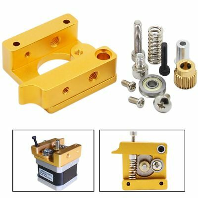 1.75mm Filament MK8 Extruder Right Left Short Hand 3D Printers Parts Block
