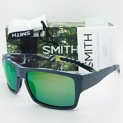 d8ff0b7644 NEW Smith Outlier XL sunglasses Matte Corsair Chromapop Green Mirror  139  MSRP