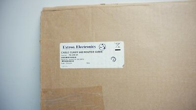 Extron Cable Cubby 600 Router Guide (70-239-01) (C18A) New