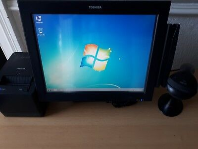 Toshiba ST-A10 Epos System with Scanner / Printer / Mag Card Reader / Display