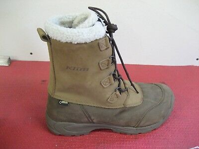 amputee Right only KLIM Tundra GTX Boot brown goretex boot eleven 11