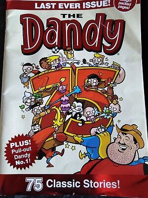 dandy comic LAST EVER issue( december 2012)collectors edition