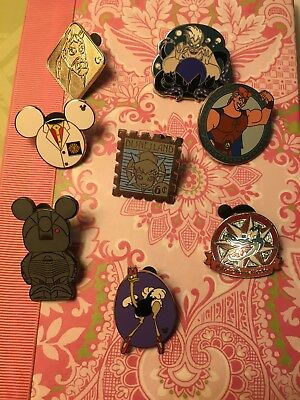 Lot of 8 Disney Pins as pictured