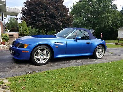 1998 BMW M Roadster & Coupe  1998 BMW M Roadster convertible