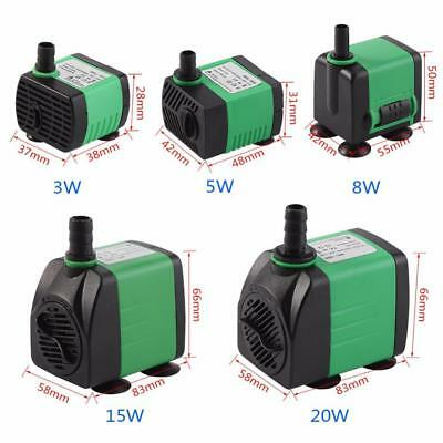 Submersible Water Pump For Aquarium Fish Tank 3W-20W 220-240V Energy Saving-CSLA